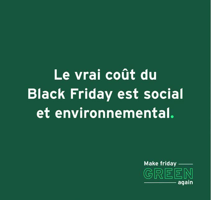 Le vrai coût du Black Friday est social et environnemental